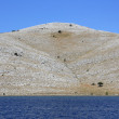 Wild island landscape, Kornati, Croatia — Stock Photo