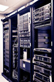Network Server Racks — Stockfoto