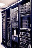 ネットワーク サーバー ラック — ストック写真