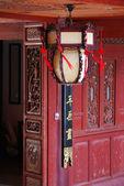 Antika kinesiska lampa — Stockfoto