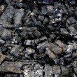 Charcoal from the fire — Stock Photo