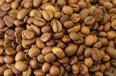 咖啡豆纹理背景棕色 — 图库照片