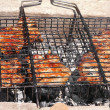 Stock Photo: Grilled Meat preparing barbecue fresh food