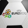 Stock Photo: Football Euro 2012 Official logotype