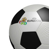 Football Euro 2012 Official logotype UEFA — Stock Photo