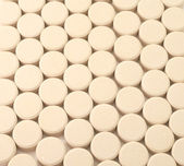 Pills medicine background textured tablets — Stock Photo