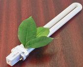 Eco lamp energy saving — Stock Photo