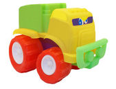 Toy car machine truck colorful isolated — Stock Photo