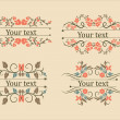 Calligraphic elements vintage set — Stock Vector #11252814