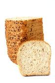 Bakery Products Isolated on White Background — Stock Photo