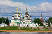 Historical centre of the Veliky Ustyug, Russia — Stock Photo