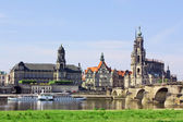 Old town of Dresden,Saxony,Germany — Stock Photo