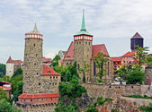 Old town of Bautzen,Saxony,Germany — Stock Photo