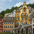 City centre of Karlovy Vary,Czech Republic — Stock Photo #11125586