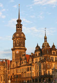 Residenzschloss in Dresden,Saxony,Germany — Stock Photo