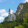 Schloss Neuschwanstein,Bavaria,Germany - Stock Photo