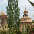 Stock Photo: Monastery of SantMaride Poblet,Spain