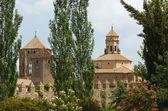 The Monastery of Santa Maria de Poblet,Spain — Stock Photo