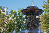 Fountain Vitali,Moscow,Russia — Stock Photo