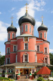 Donskoy monastero, mosca, russia — Foto Stock