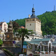 City centre of Karlovy Vary,Czech Republic — Stock Photo #11679788