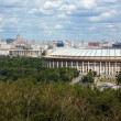 Panoramof Moscow from Sparrow hills,Russia — Foto de stock #11739608
