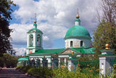 Holy Trinity Church in vorob″eve,Moscow,Russia — Stock Photo
