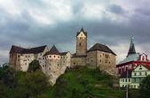 The castle Loket,Czech republic — Stock Photo