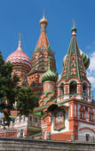 Saint Basil's Cathedral,Moscow,Russia — Stock Photo