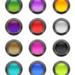 Сolourful buttons — Stock Vector #10965091