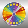 Vector wheel of fortune - Image vectorielle