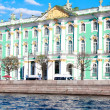 The Hermitage, the embankment — Stock Photo