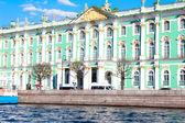 The Hermitage, the embankment — Stock Photo