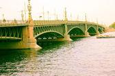 Bridge embankment — Stock Photo