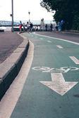 Cykelväg — Stockfoto