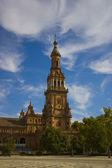 Spain square in Seville — Stock Photo
