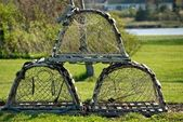 Lobster Traps — Stock Photo