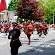 ������, ������: RCMP march in the 2012 apple blossom parade