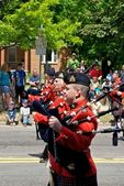 RCMP bagpipes — Stock Photo