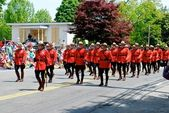 RCMP march — Stock Photo