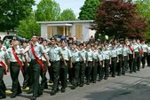 Army Cadets March — Stock Photo