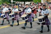 Air Force Pipe Band — Stock Photo