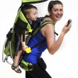 Baby carrier - Stock Photo