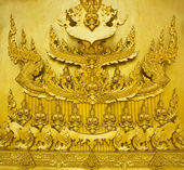 Thai style art stucco — Stock Photo
