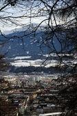 Blick auf innsbruck, österreich. — Stockfoto