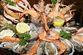Assorted seafood — Stock Photo