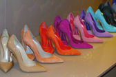 Women's High Heels Shoes — Stock Photo