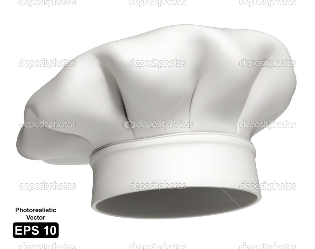 Real Chefs Hat chef hat   Vector by Jocky