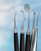 Dentist tools 1 — Foto Stock