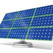 Solar panel Blue - Stock Photo
